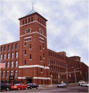 The former Malden Mills factory  (Photo credit: Oak Ridge National Laboratory)