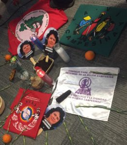 Mystica tribute and reflection for Berta Caceres