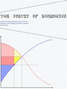 UEP Chair Mary Davis put together an anthology of poems from last Spring's economics class.